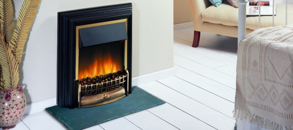 Cheriton free-standing Optiflame fire
